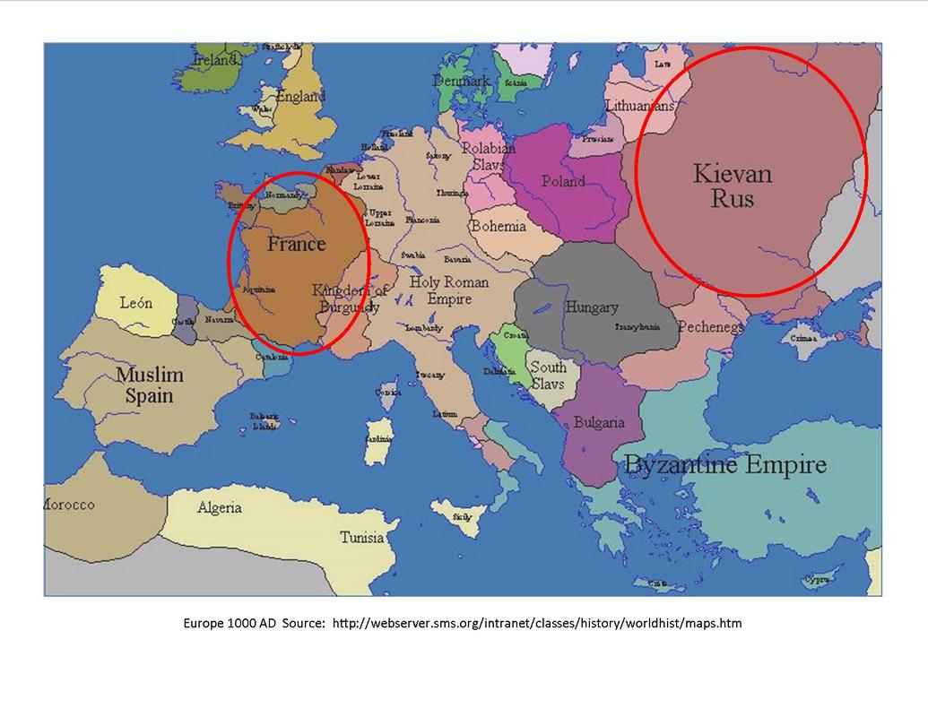 Europe Circa 1000 Ad Order Of Medieval Women